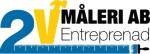 2V Måleri och Entreprenad AB logotyp