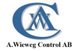 A. Wieweg Control AB logotyp