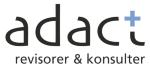 Adact Revisorer & Konsulter AB logotyp