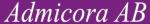 Admicora AB logotyp