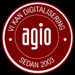 Agio System och Kompetens i Skandinavien AB logotyp