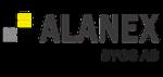 Alanex Bygg AB logotyp