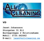 Allcleaning Värmland AB logotyp