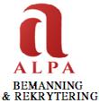 ALPA bemanning & rekrytering AB logotyp