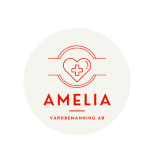 Amelia Vårdbemanning AB logotyp