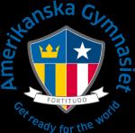 Amerikanska Gymnasiet i Sverige AB logotyp