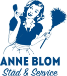 Anne Blom Städ & Service AB logotyp