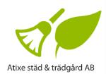 Atixe Städ & Trädgård AB logotyp