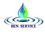 Ben Hassine Service AB logotyp