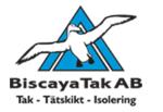Biscaya Tak AB logotyp
