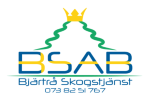 Bjärtrå Skogstjänst AB logotyp