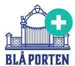 Blå Porten AB logotyp