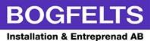 Bogfelts Installationer och Entreprenad AB logotyp