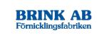 Brink Förnicklingsfabriken AB logotyp