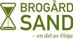 Brogårdsand AB logotyp