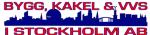 Bygg, Kakel & Vvs i Stockholm AB logotyp