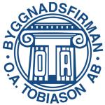Byggnadsfirman O.A. Tobiason AB logotyp
