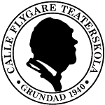 Calle Flygare Teaterskola AB logotyp