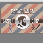 Casa barbershop logotyp
