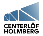 Centerlöf & Holmberg AB logotyp