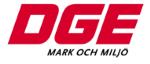 Dge Mark och Miljö AB logotyp
