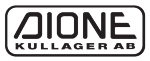 Dione Kullager AB logotyp