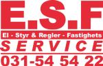 E.S.F. Service AB logotyp