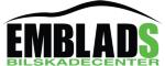 Emblads Bilskadecenter KB logotyp