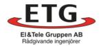 Etg El&Tele Gruppen AB logotyp