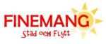 Finemang Städ och Flytt AB logotyp