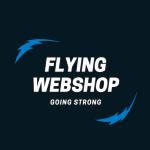Flyingwebshop AB logotyp