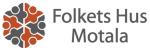 Folkets Hus i Motala u p a logotyp