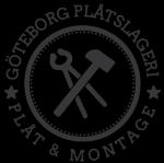 Göteborgs Plåt och Montage AB logotyp