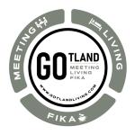 Gotland Living and Meeting AB logotyp
