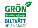 Grön biltvätt Helsingborg logotyp