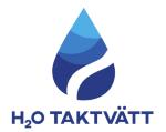 H2O Taktvätt i Sydost AB logotyp