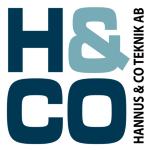 Hannus & Co. Teknik AB logotyp