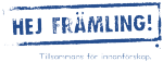 Hej Främling! logotyp