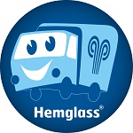 Hemglass i Sverige AB logotyp
