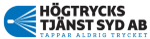 Högtrycks tjänst Syd AB logotyp