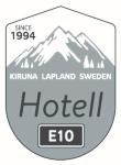 Hotell E10 i Kiruna AB logotyp