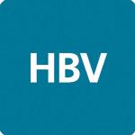 Husbyggnadsvaror H.B.V. Fören U.P.A. logotyp