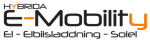 Hybrida E-mobility AB logotyp