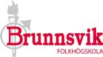 Ideella fören Brunnsviks folkhögskola med företa logotyp