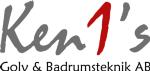 Ken1:s Golv & Badrumsteknik AB logotyp