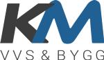 Km vvs & bygg ab logotyp