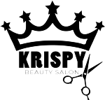 Krispy beauty salon ab logotyp