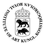 Kungliga Konsthögskolan logotyp
