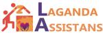 Laganda Assistans AB logotyp