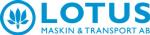 Lotus Maskin & Transport AB logotyp